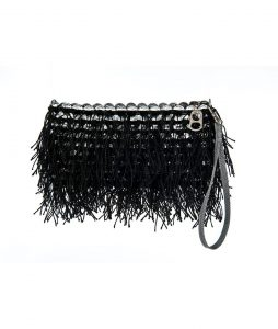 Shaggy Recycled soda top bags in Black