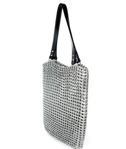 Recycled-soda-pop-top-tote-bag-silver