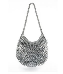 Greta Shoulder Bag -shown here in silver