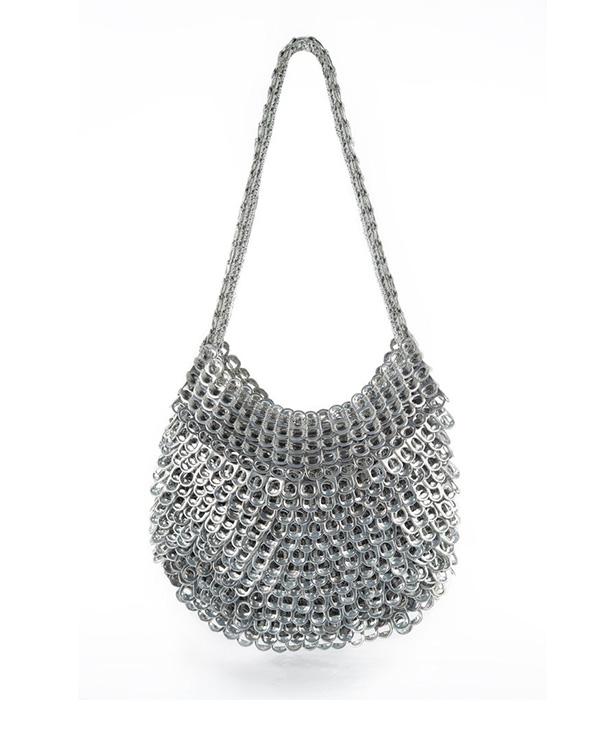 Greta Shoulder Bag -shown here in silver